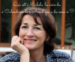 Qui est Michèle, la voix 🎤 du « Calendrier de l'Avent qui a du sens » ?